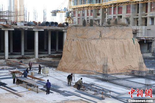 중국의 무덤박기 현장 사진.