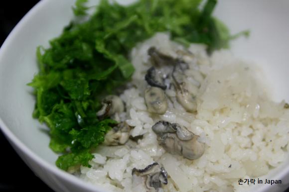 폭설이 나에겐 준 선물(3)-굴무채밥