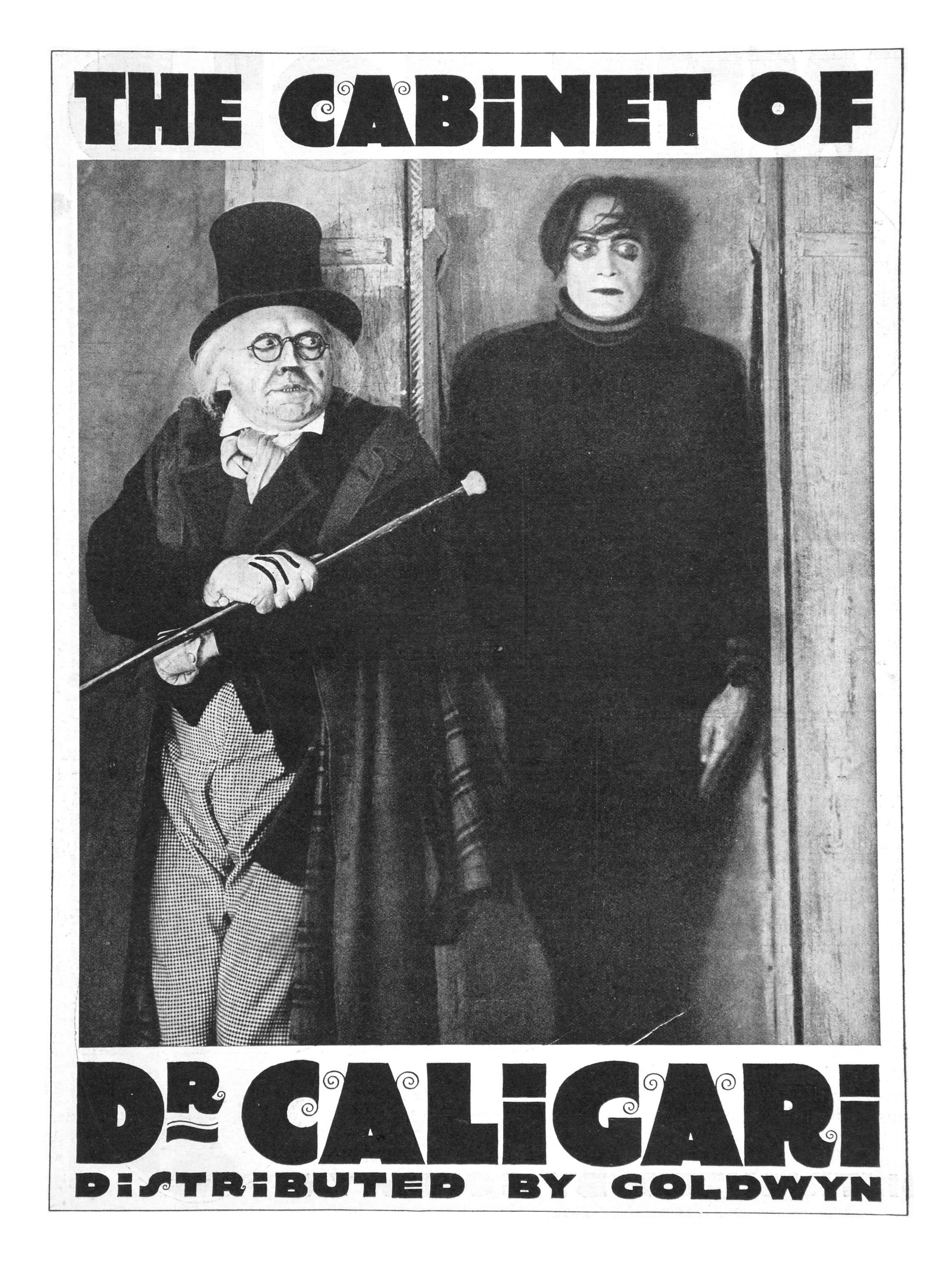 The Cabinet Of Dr. Caligari, Das Cabinet De..