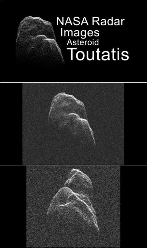 초대형 소행성 토타티스