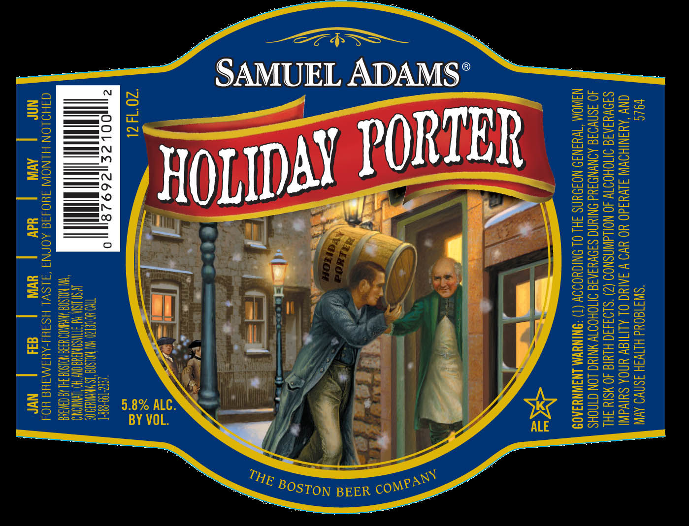 Samuel Adams Holiday Porter(사무엘 아담스..