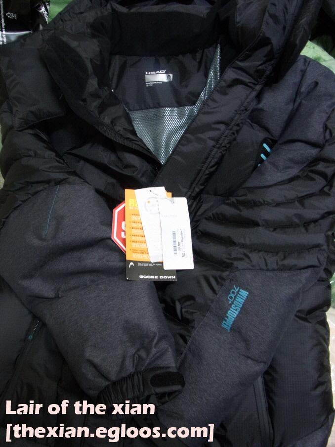 거의 10년 만에 새 겨울 다운 자켓(패딩)을 샀습니다.