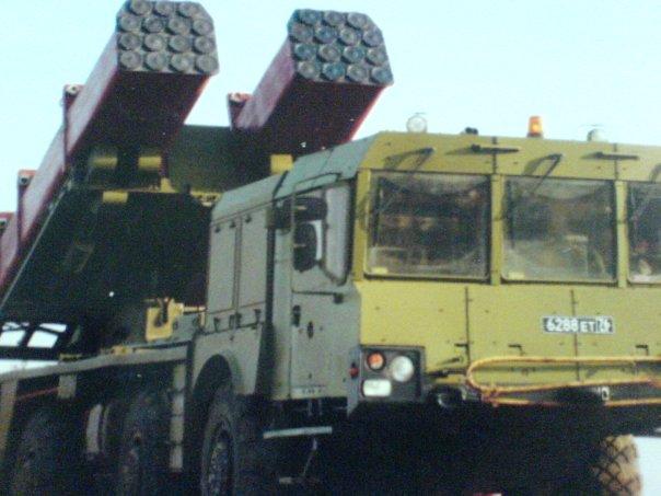 토르나도 다련장 로켓의 생산이 재개될것.Rus