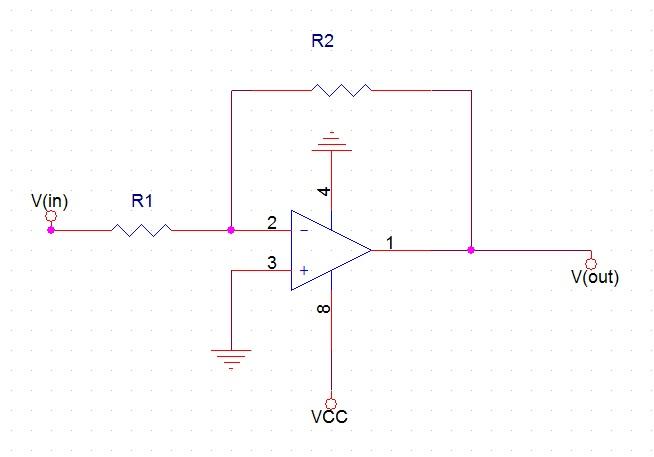 [Electronic Circuit] 반전증폭기(Inverting ..