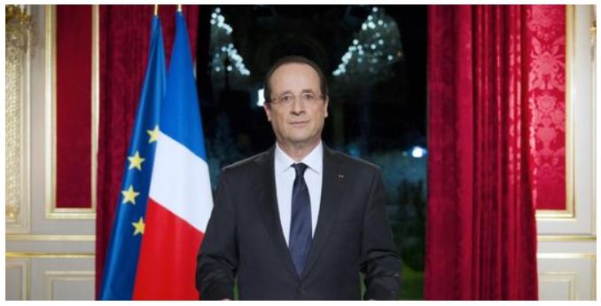 [프랑스]올랑드 대통령의 신년사!