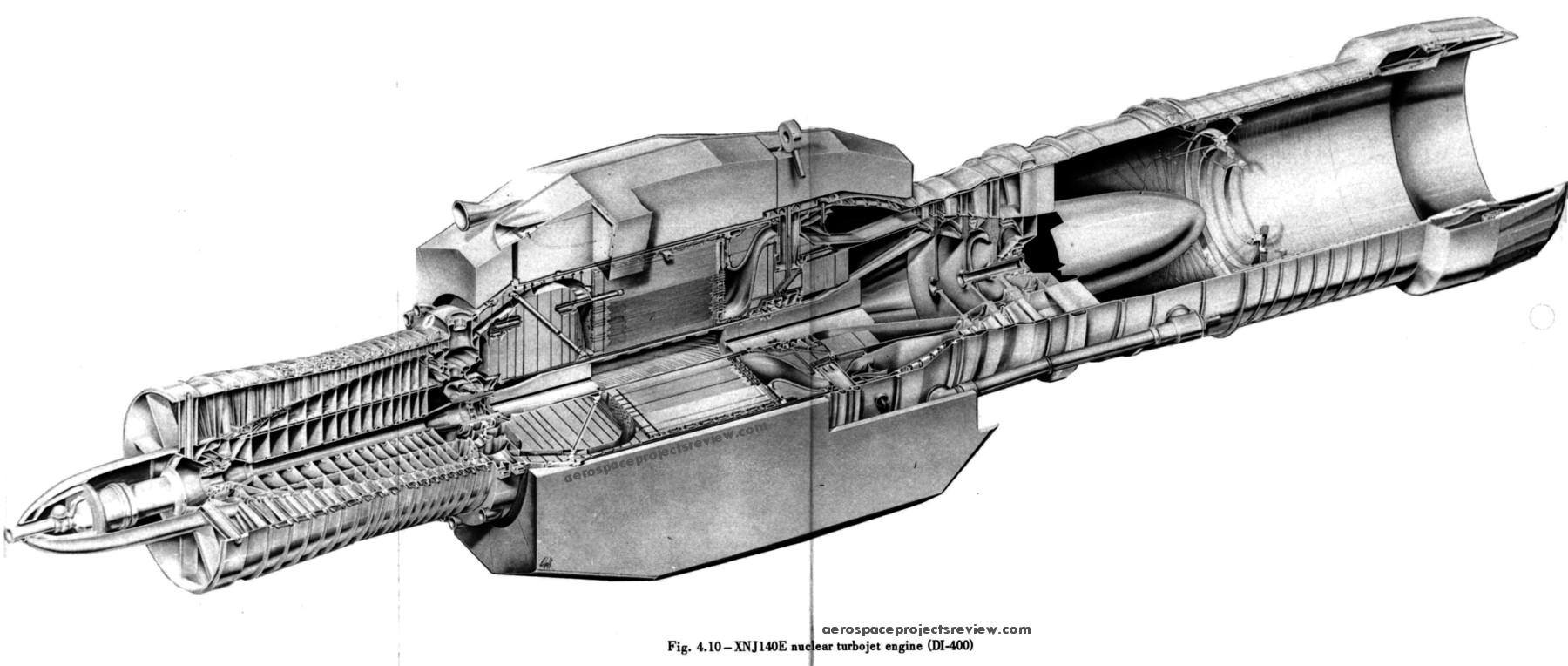원자력 제트 엔진 : 이런 시절도 있었어요.