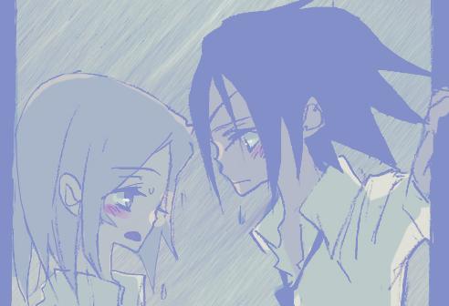 헐떡헐떡..비오는 날
