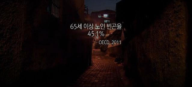 가난한 노인의 나라, 대한민국