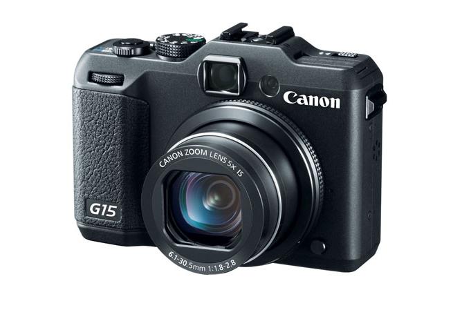 카메라 지름: Canon G15