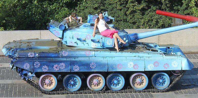 전차의 노후대책.UKR