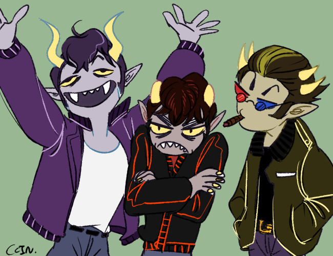 Karkat And Gamzee And Sollux Gamzee karkat sollux versionKarkat And Gamzee And Sollux