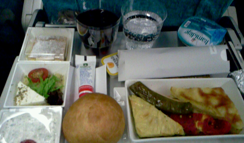 이스탄불-인천 터키항공 기내식
