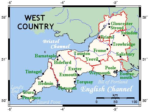 영국 내전사 - 웨스트 컨트리의 초전