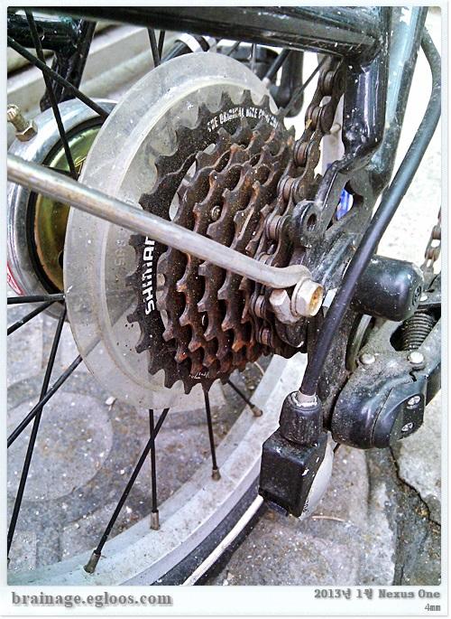 당신 자전거는 무사하신가요 - 겨울 녹 관리