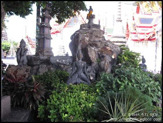 [방콕] 왓포의 다양한 불상과 탑 1