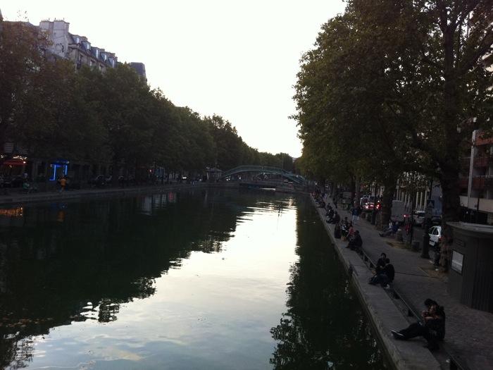 파리스토리 St.martin canal