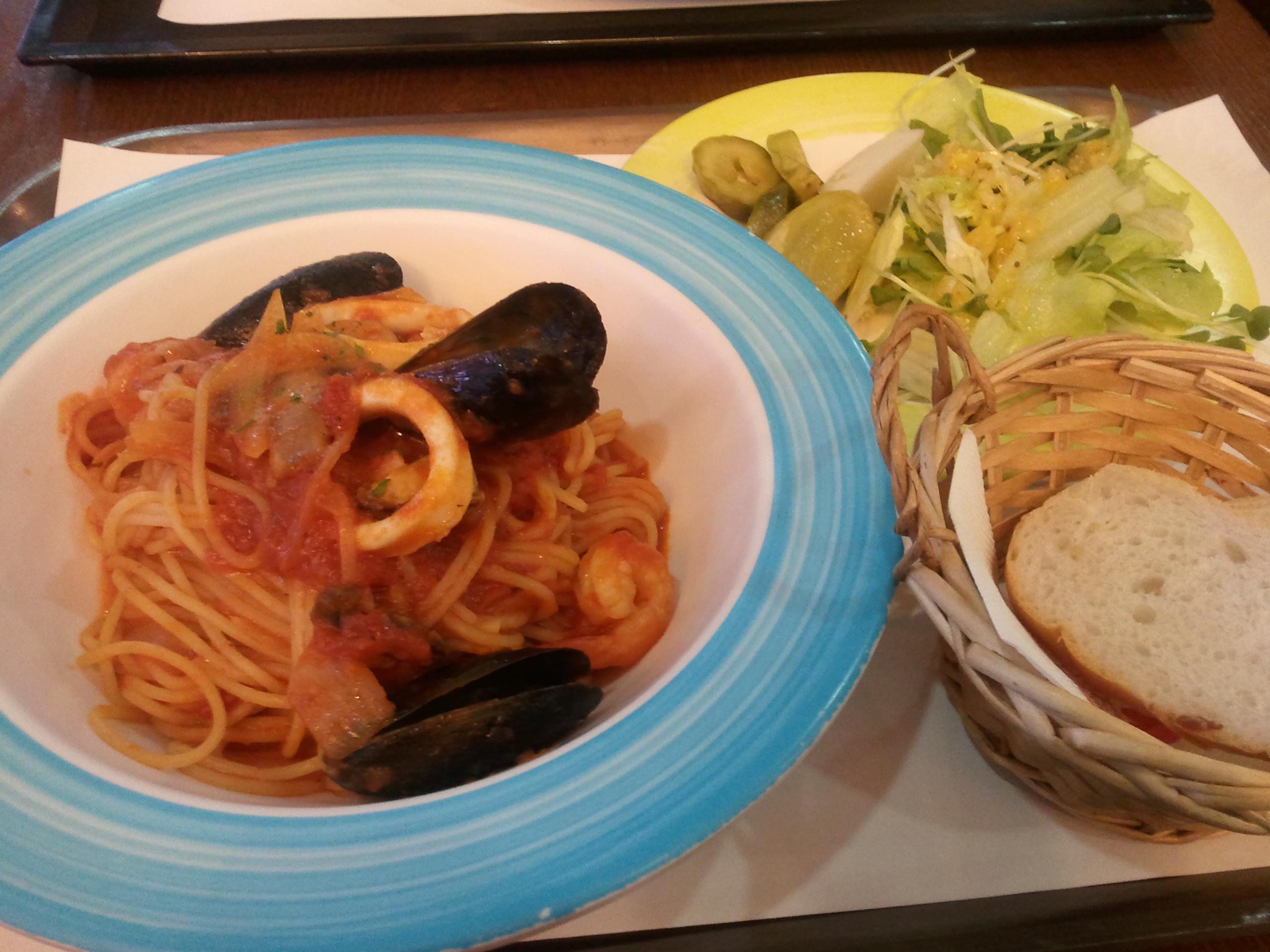 오늘 점심에 먹은것들.