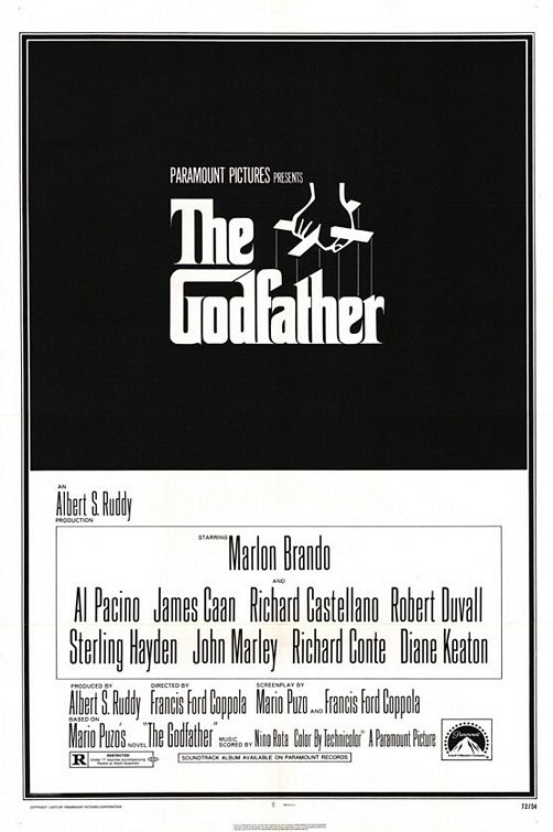 대부, The Godfather, 1972