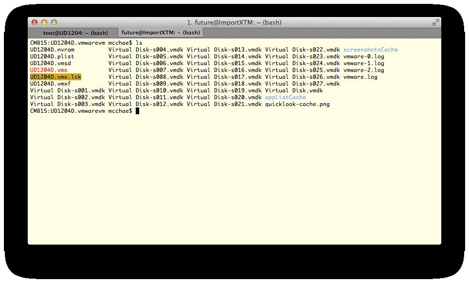 [OSX] VMWareFusion에 설치된 우분투 디스크..