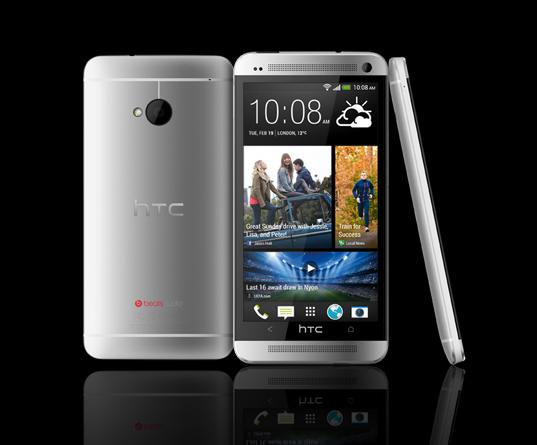HTC, 플래그십 스마트폰 HTC one 공개