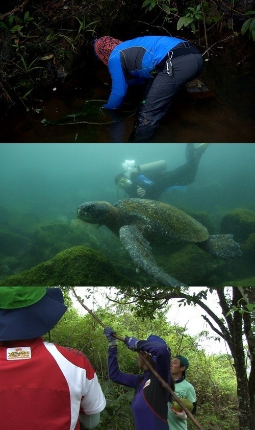 김병만, 정글의법칙 갈라파고스 해저 탐험 도전!!