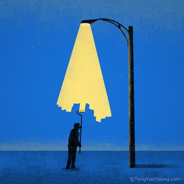 Tang Yau Hoong-기발한 발상의 그래픽 아티스트