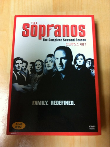 소프라노스 시즌 2 DVD 득템!
