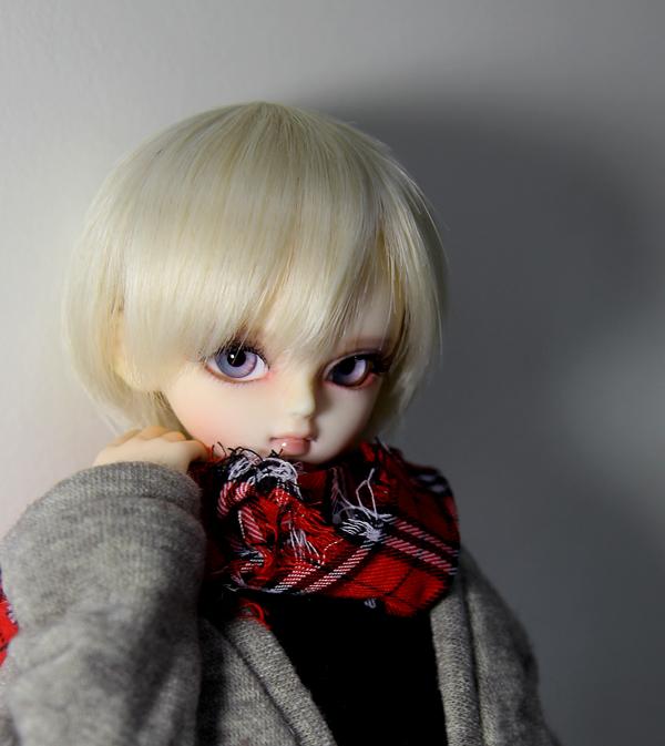 [인형사진] 소년기사