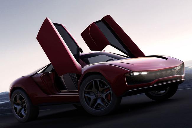 제네바 모터쇼 - 쥬지아로 파쿠르 컨셉.