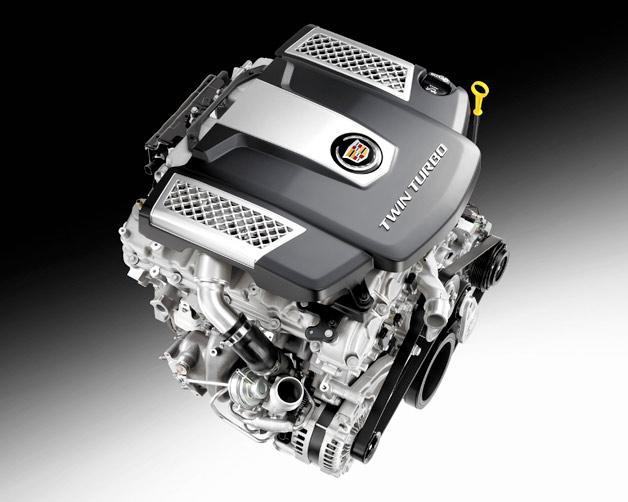 GM/캐딜락의 신형 V6 트윈터보