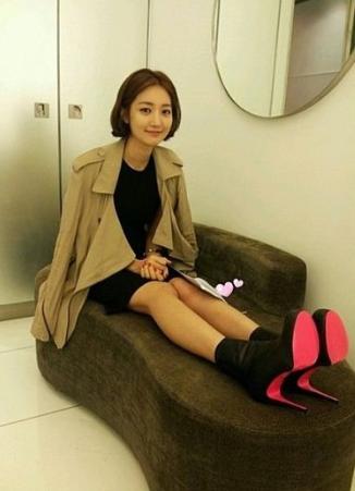 [트렌치코트모음]연예인 트렌치코트 코디 모음/여..