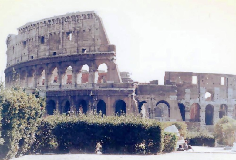 40년전의 로마...
