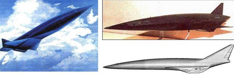 소련의 극초음속 비행체 계획 '아약스'.SSSR