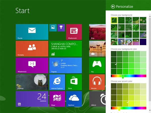 윈도우 8의 후속작 Windows Blue는 이런 모습