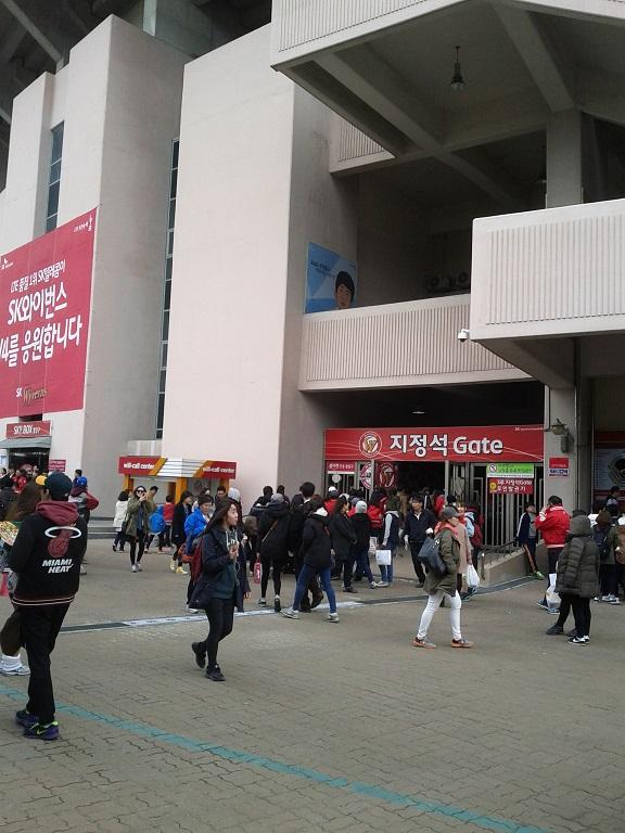 프로야구 LG:SK 개막전 관람 사진 몇장