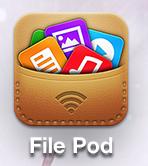 [iOS] File Pod - 아이폰을 무선 이동식 디스크로