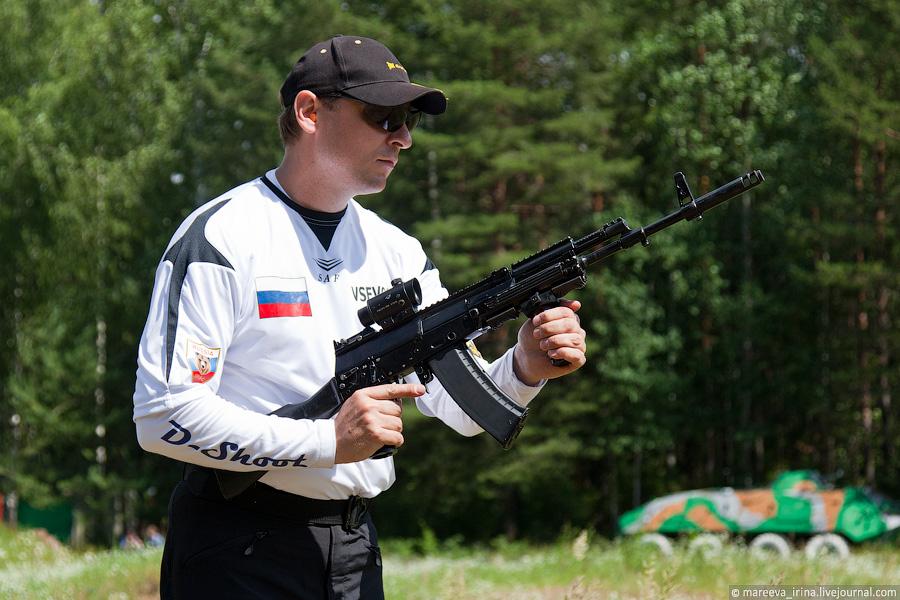 토치마시에서 테스트중이던 AK-12