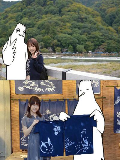 여성 만화가 '쿠로다bb' 선생과 성우 '후쿠하라 카오..