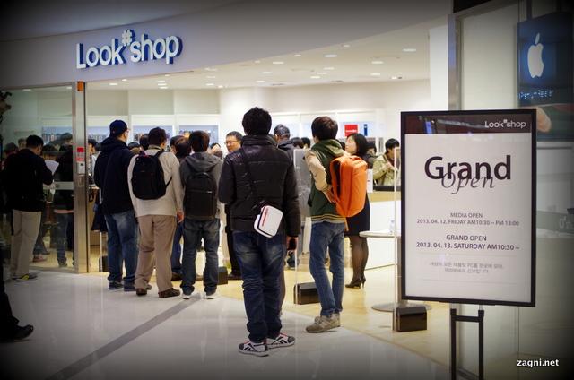 국내 최초의 태블릿 전문점, 룩 샵(LOOK#) 오픈!