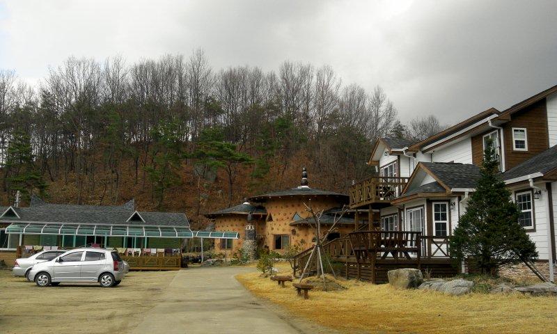 일 하는 마을 풍경