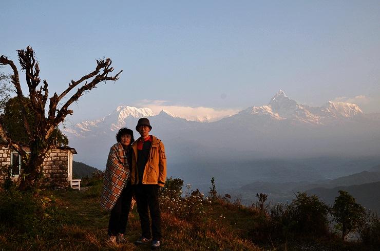 부모님과 함께한 네팔 (7) 소박한 트레킹-2 오스..