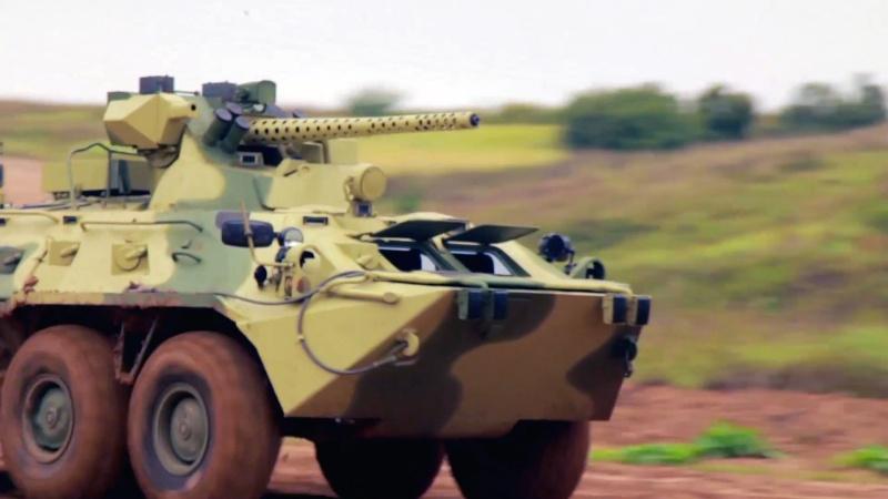 BTR-82AM 짜르방.Rus