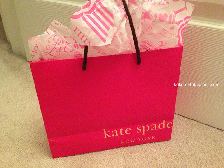 130504 케이트 스페이드 지갑 구매