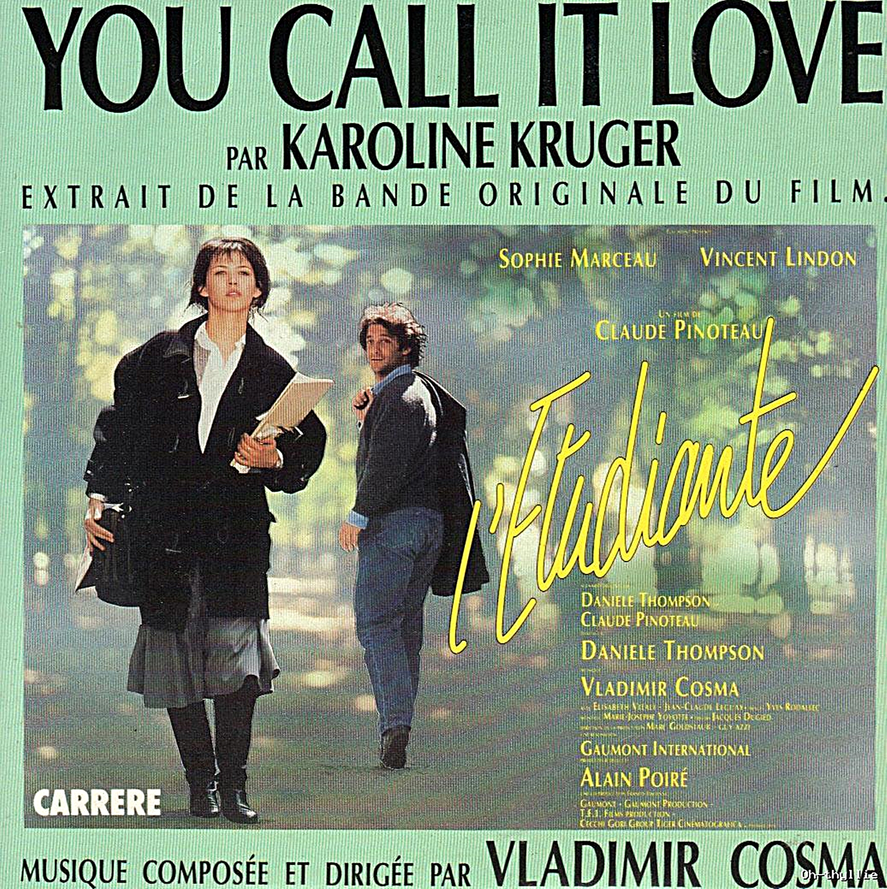 Karoline Krüger - You Call It Love