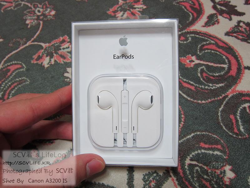 애플 이어팟 구입 & 간단 소감