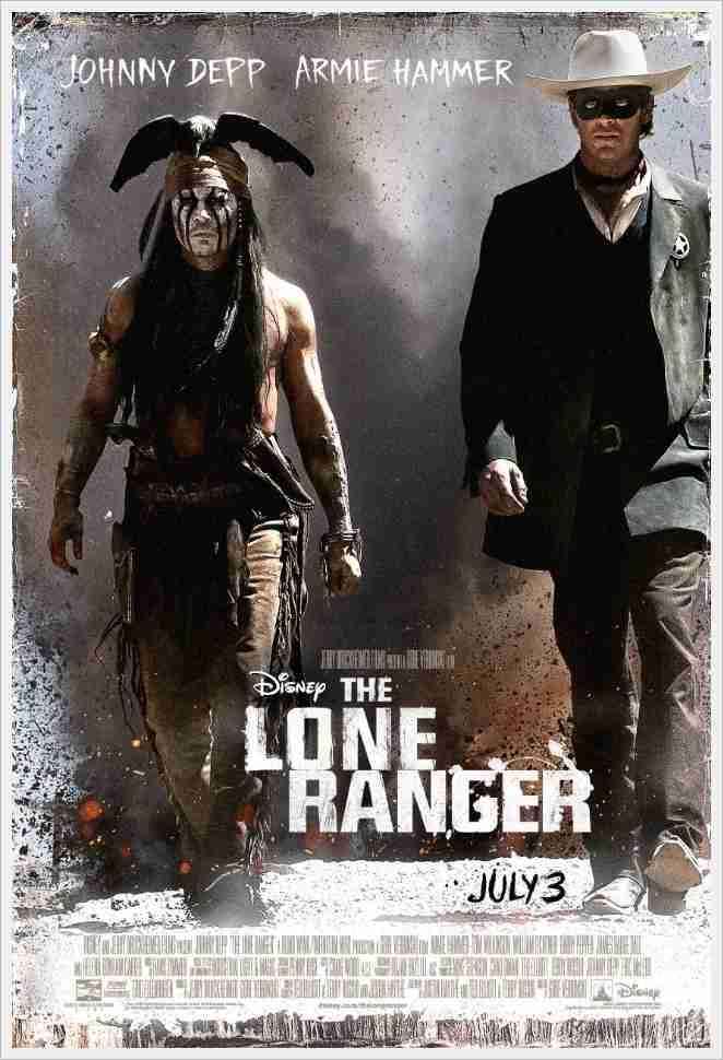 """이 영화가 2억 5천만달러 짜리? """"론 레인저"""" 새 예고편.."""