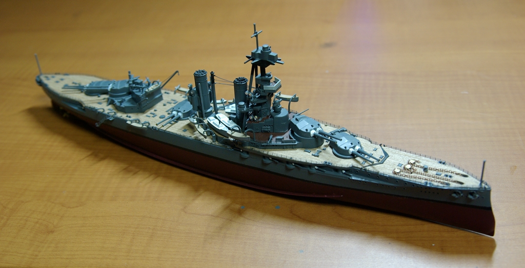 HMS Iron duke (1/600 Airfix)