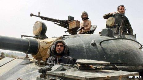 알-쿠사이르의 공세가 시리아 내전에 변화를 가져..