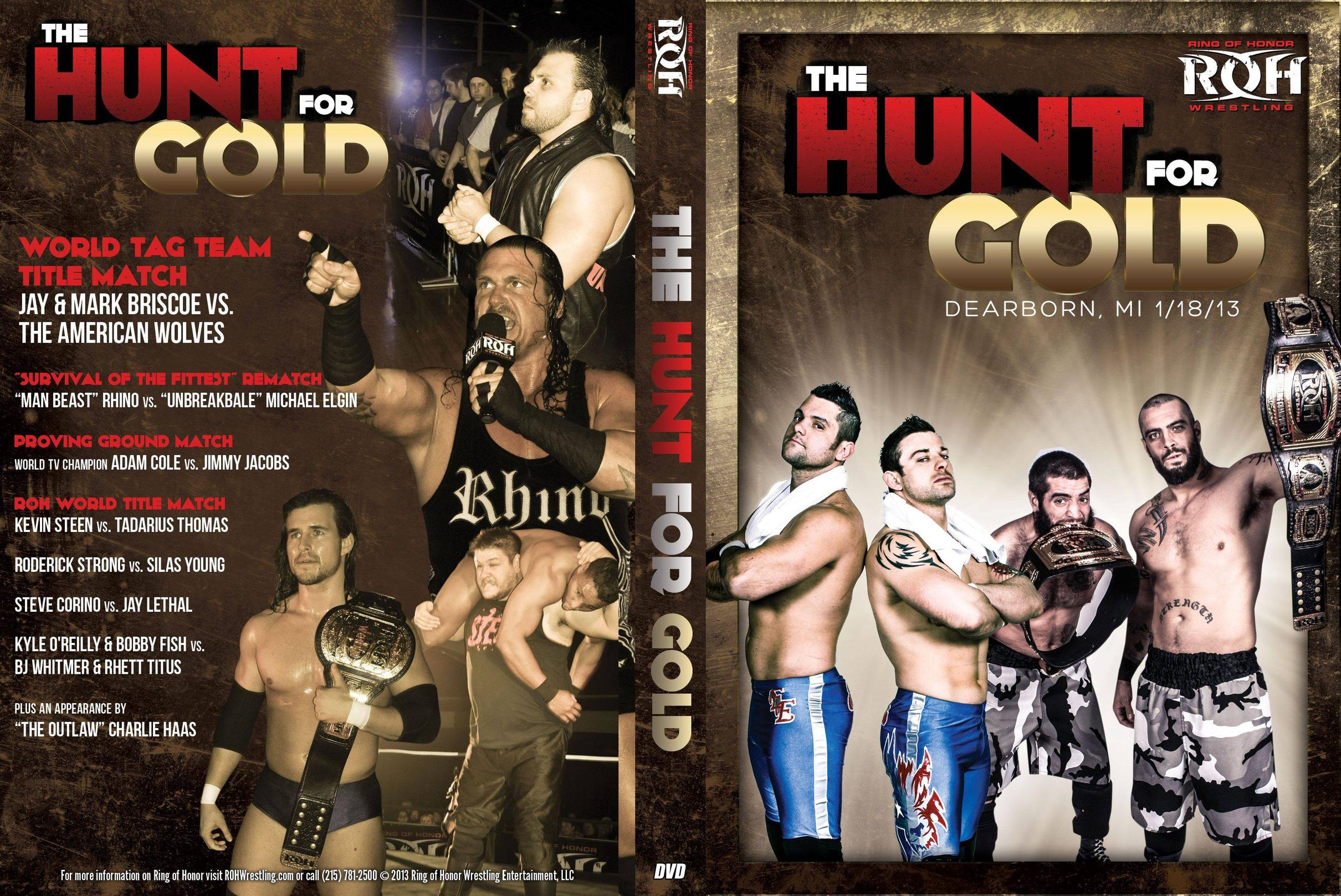 ROH 2013/01/18 The Hunt for Gold Review