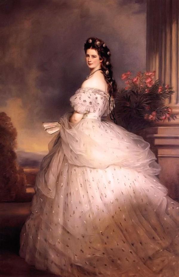 오스트리아의 엘리자베스 드레스 레플리카